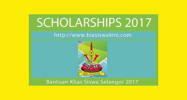 Bantuan Khas Siswa Selangor 2017