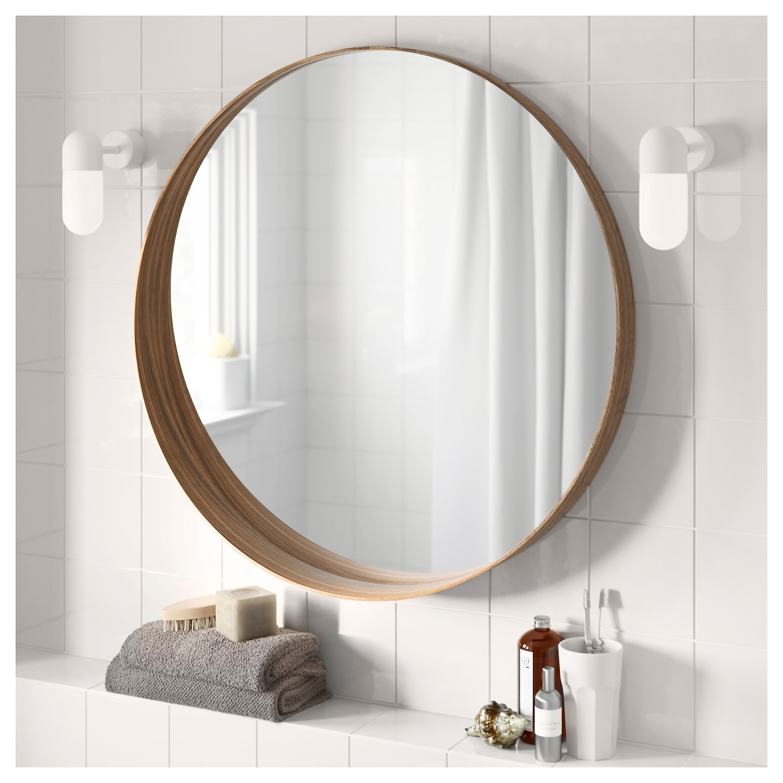 Master bathroom reno plans from thrifty decor chick for Miroir salle de bain led