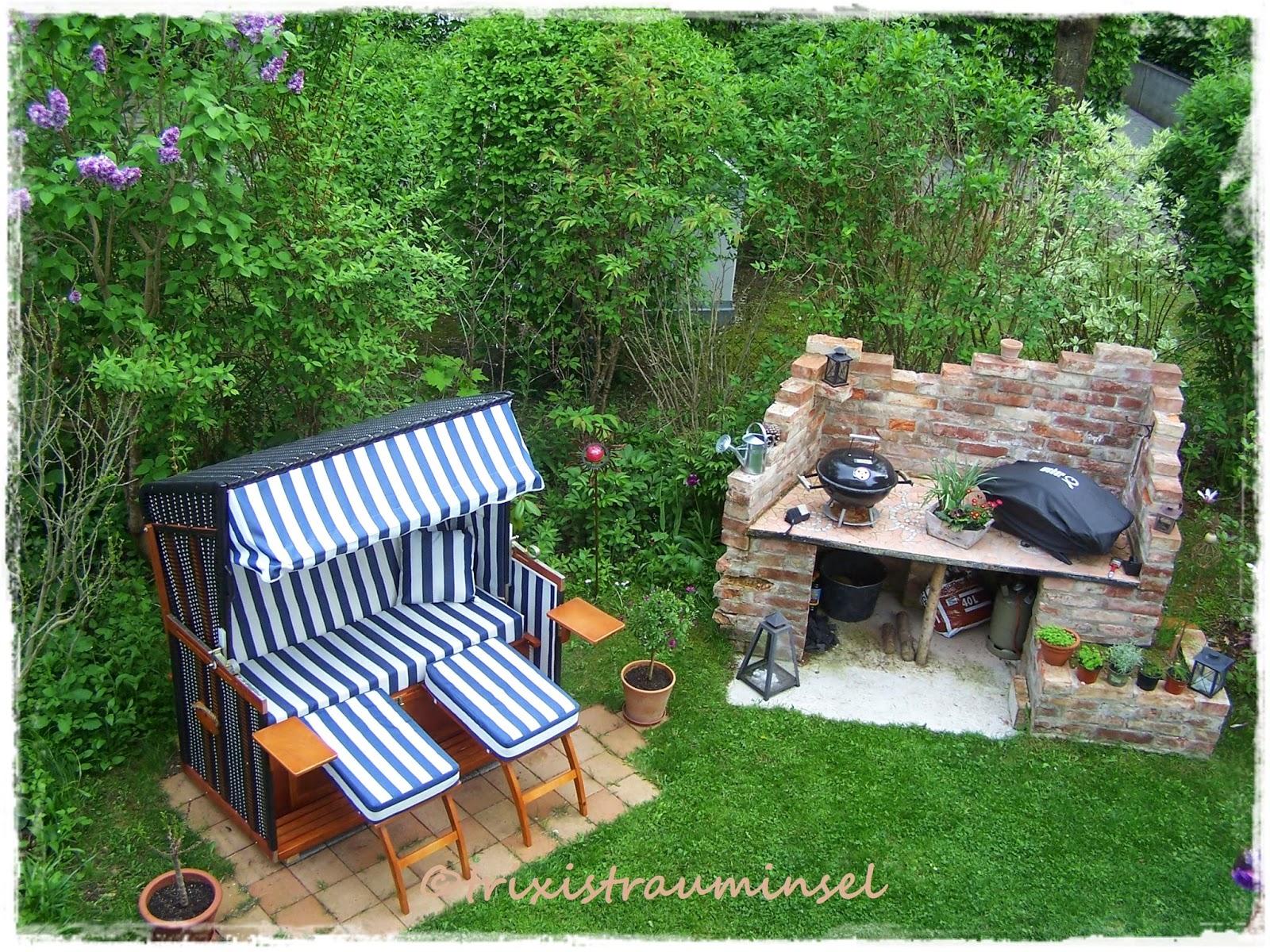grillplatz im garten gestalten im garten daheim stein. Black Bedroom Furniture Sets. Home Design Ideas