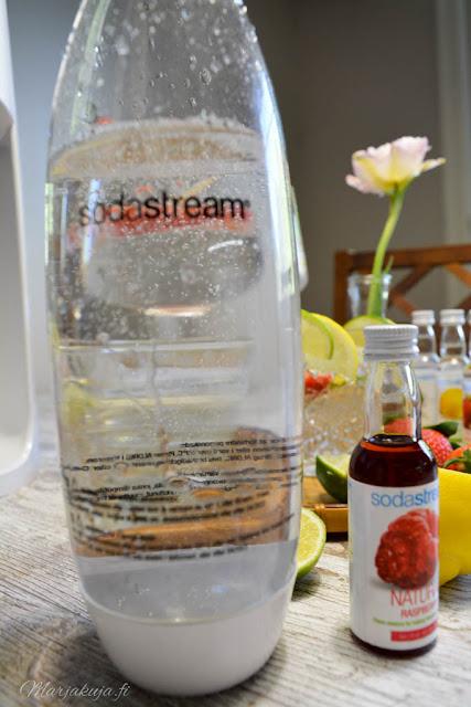 sodastream spirit makuvesi kuplajuoma masikka kesä