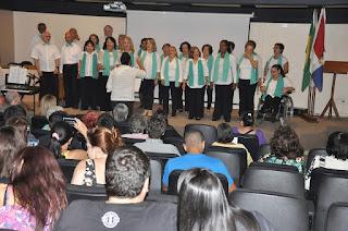 Café Filosófico contou com a participação do coral do Centro Cultural FESO Pro Arte