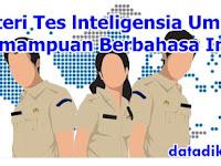 Materi Tes lnteligensia Umum (TIU) Kemampuan Berbahasa Indonesia