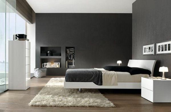 Dormitorios decorados en gris colores en casa for Dormitorio gris