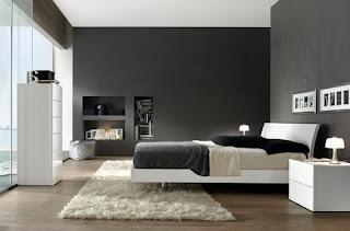 Dormitorio color gris