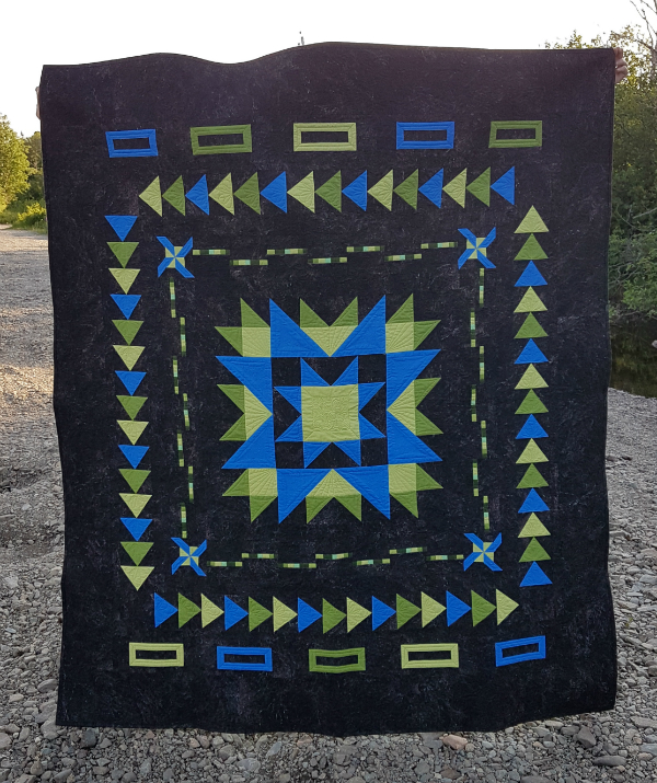Medallion Magic quilt pattern | DevotedQuilter.com