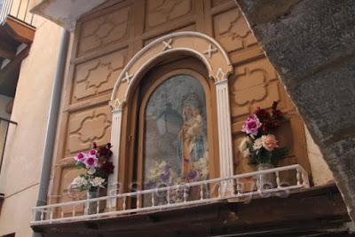 Capilla en el portal interior de Villanueva