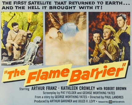 Lobbycard - The Flame Barrier
