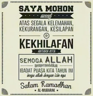 Gambar DP Mohon Maaf Puasa Ramadhan Status Islami Puasa Ramadan