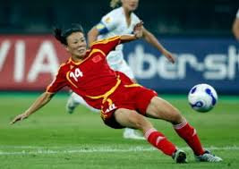Former women's World Cup star Zhang Ouying dies at 43