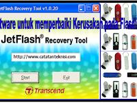 Software untuk memperbaiki Kerusakan pada Flasdik