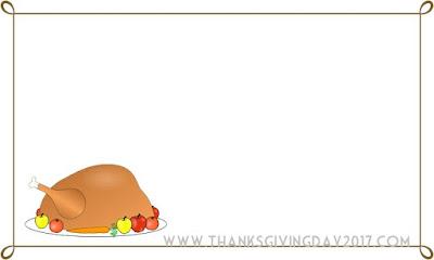 Thanksgiving Border Photos