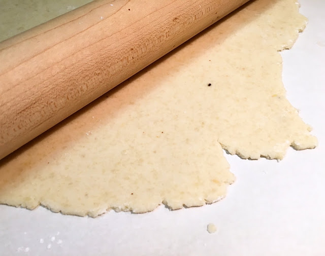 Sheet of Rolled Marzipan for Petits Fours