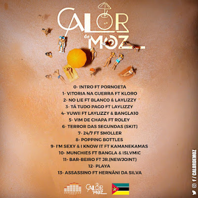 Luar - Calor de Moz 2 (Mixtape) [2018]