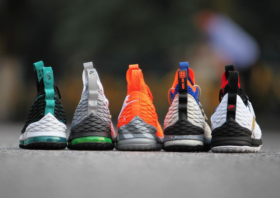 17c5f15f1cfe Each Nike LeBron 15 LeBron Watch model will be available this Saturday