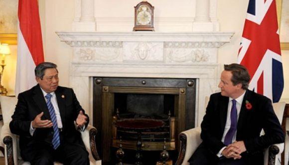 SBY dan David Cameron
