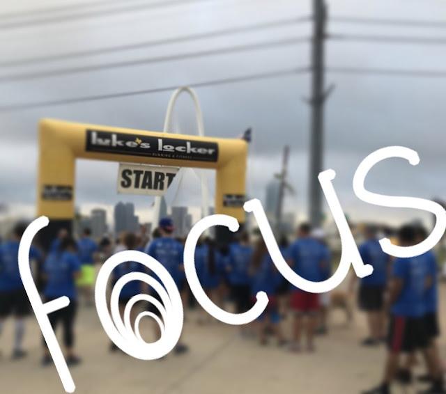 marathon race taper tapering running focus