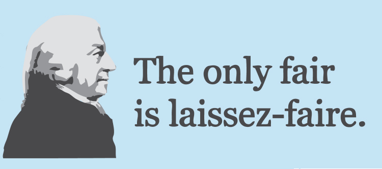 what is the relationship between laissez faire and capitalism