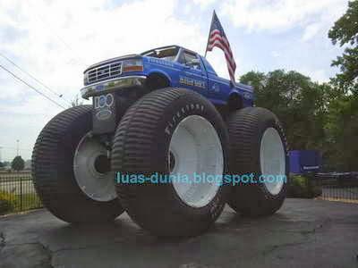 truk monster paling keren