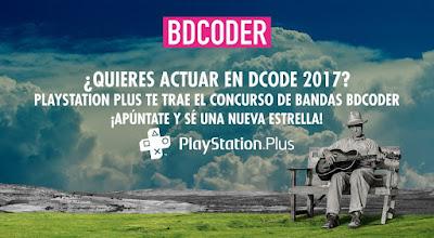 BCODER concurso de bandas DCODE 2017