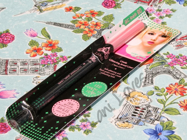Lioele Glittering Jewel Liner - #8 Aqua Green Swatches & Review