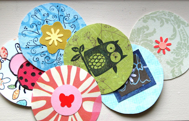 Paper Circle Cut Outs