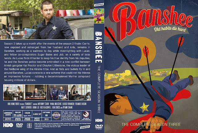 Banshee Season 3 DVD Cover