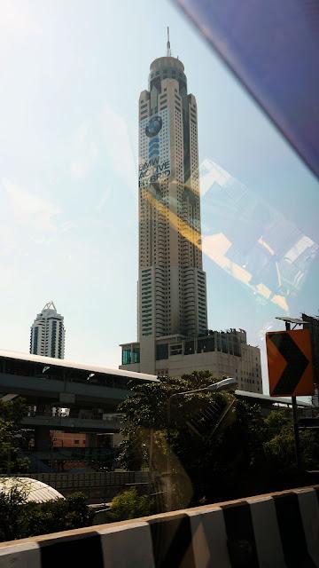 Изображение башни-строения в городе Бангкок