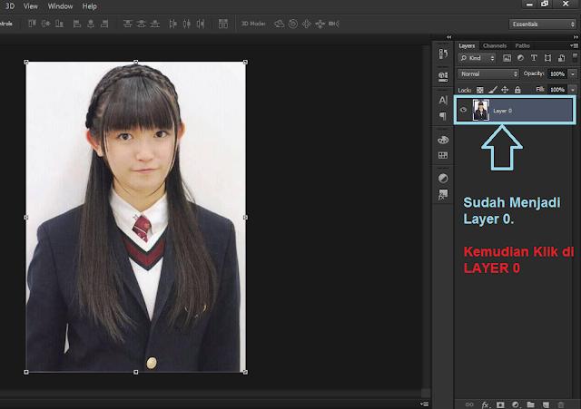 Membuat Pas Foto di Photoshop CS6
