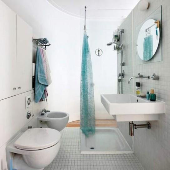 Ba os muy peque os ideas colores en casa - Decorar banos muy pequenos ...