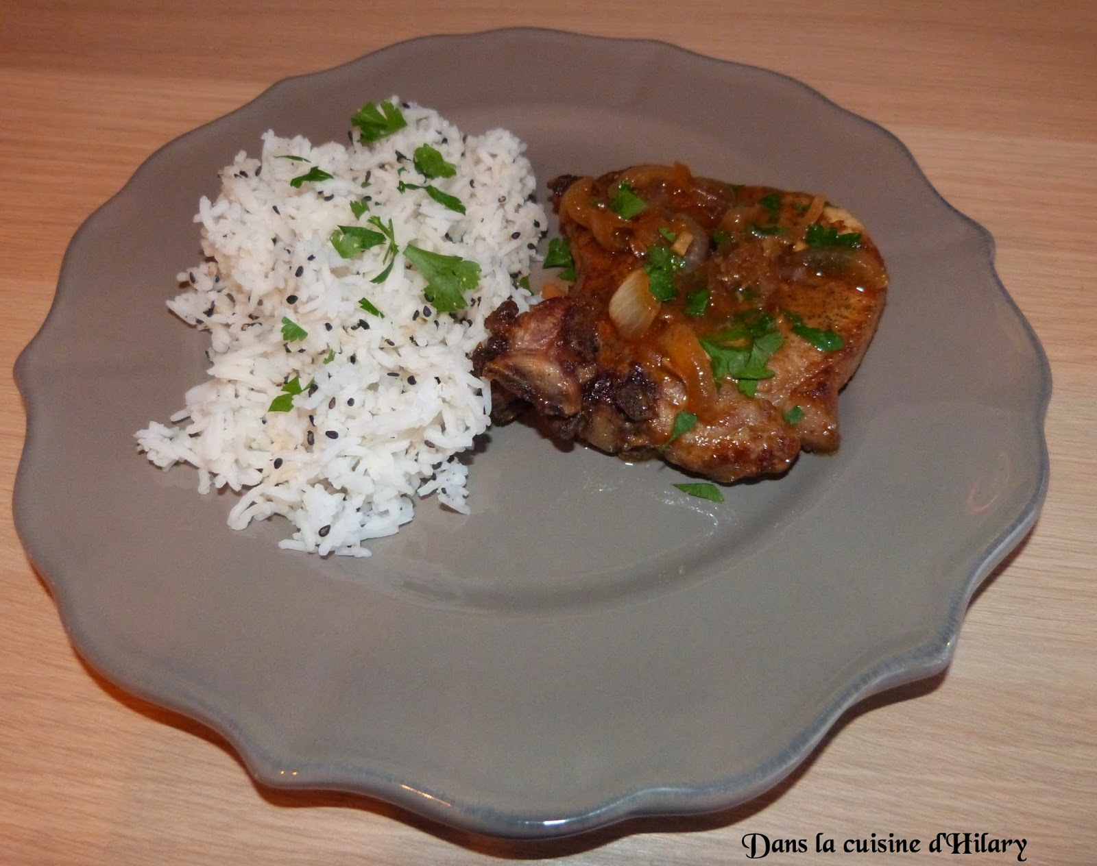 Côtes de porc marinées aux saveurs asiatiques
