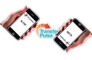 Cara transfer pulsa