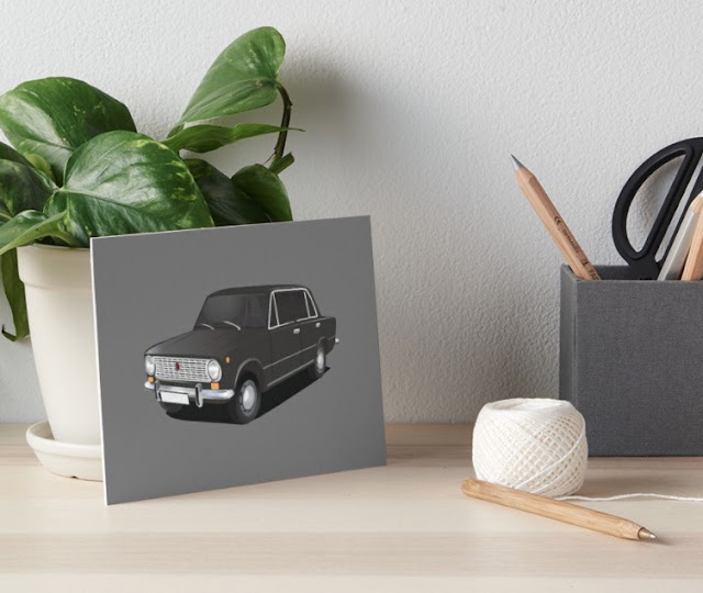 vaz-2101 Lada 1200 prints and gifts