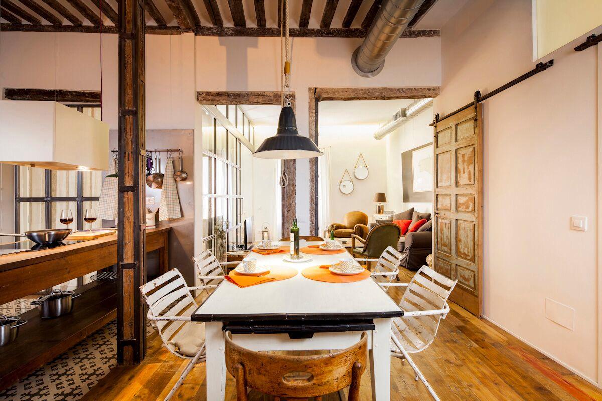 Sibarist rastro encantador alojamiento boho chic en for Hoteles chic en madrid