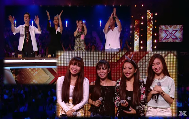 Four Pinays get standing ovation on 'X Factor UK' 2015