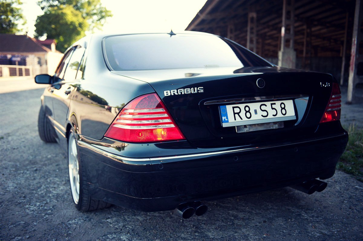 Mercedes W Brabus on 1999 mercedes s500