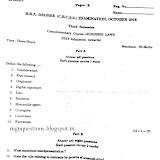 MGU Questions Papers (Mahatam Gandhi University) 2017