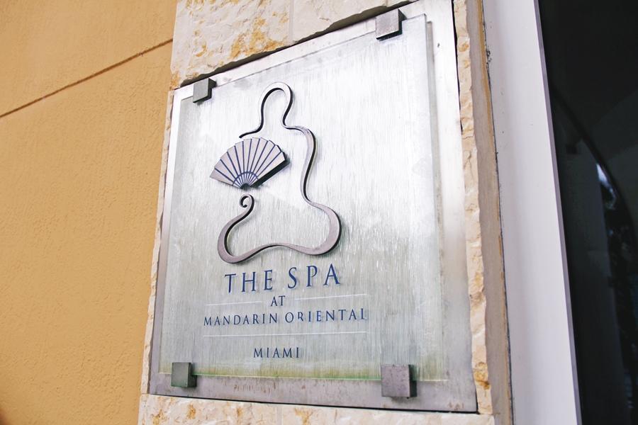 the spa at mandarin oriental miami