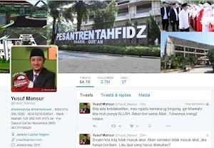 5 Twitter Ustadz Dengan Follower Terbanyak