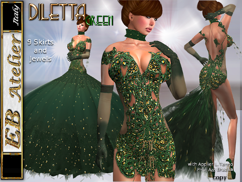 https://marketplace.secondlife.com/p/EB-Atelier-DILETTA-Green-Outfit-9-skirts-PHAT-AZZ-LOLASBRAZILIA-Appliers-italian-designer/5894732