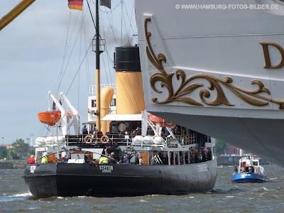 Eisbrecher Stettin, Segelschiff Dar Mlodziezy