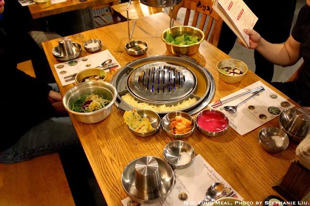 Korean BBQ at Kang Ho Dong Baekjeong