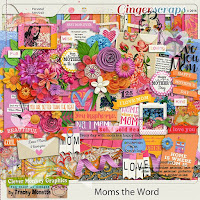 Moms the Word by Clever Monkey Graphics