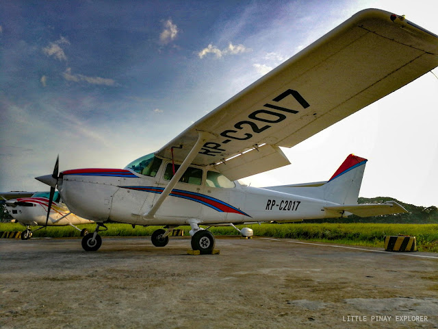Royhle, flying school in the Philippines, small plane, pilot