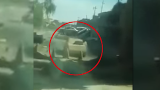 Watch This Iraqi Soldier Stop An ISIS Car Bomb With A Bulldozer