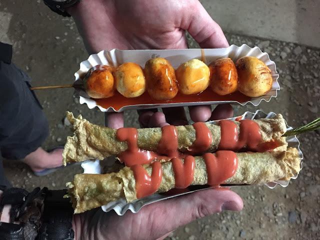 street food el nido palawan philippines