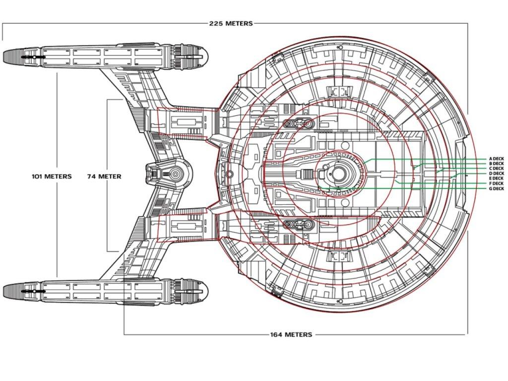uss enterprise diagram epiphone nighthawk custom reissue wiring the dork review rob 39s room ncc 1701 cross