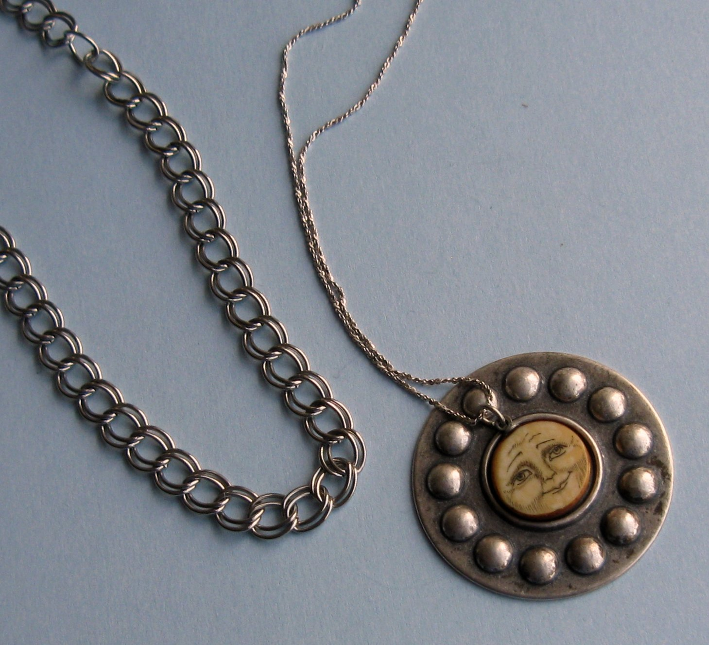 The gallery for --> Moon And Sun Necklace From Twitches
