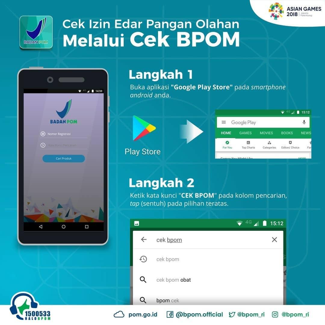 aplikasi Cek BPOM