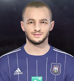 PES 2018 Faces Sofiane Hanni by Facemaker Tiitoo