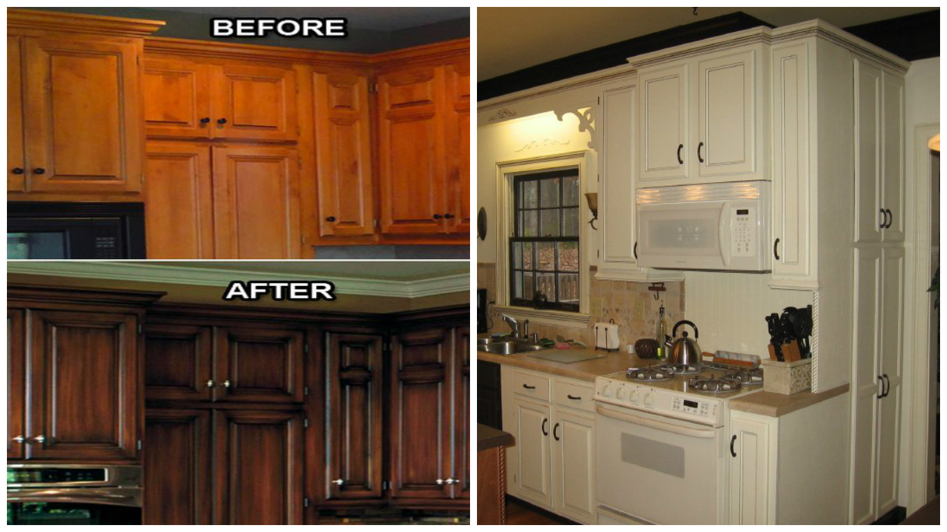 Reface kitchen cabinets for Cabinet door refacing cost